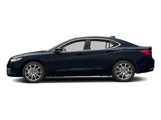 Fathom Blue Pearl 2017 Acura TLX Pictures TLX Sedan 4D V6 photos side view