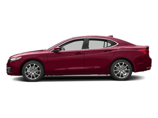 San Marino Red 2017 Acura TLX Pictures TLX Sedan 4D V6 photos side view
