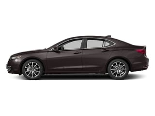 Black Copper Pearl 2017 Acura TLX Pictures TLX Sedan 4D Advance V6 photos side view