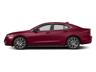 San Marino Red 2017 Acura TLX Pictures TLX Sedan 4D Advance V6 photos side view