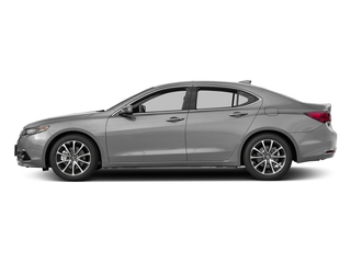 Lunar Silver Metallic 2017 Acura TLX Pictures TLX Sedan 4D Advance V6 photos side view