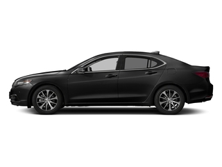 Crystal Black Pearl 2017 Acura TLX Pictures TLX Sedan 4D Technology I4 photos side view