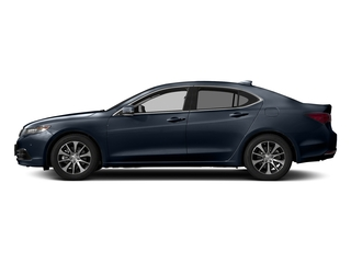 Fathom Blue Pearl 2017 Acura TLX Pictures TLX Sedan 4D Technology I4 photos side view