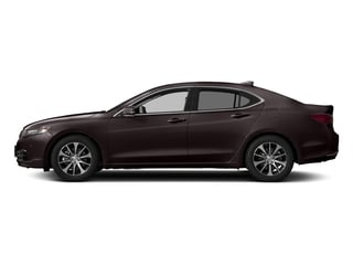 Black Copper Pearl 2017 Acura TLX Pictures TLX Sedan 4D Technology I4 photos side view