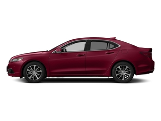 San Marino Red 2017 Acura TLX Pictures TLX Sedan 4D Technology I4 photos side view