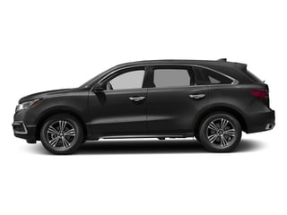 Crystal Black Pearl 2017 Acura MDX Pictures MDX Utility 4D AWD V6 photos side view