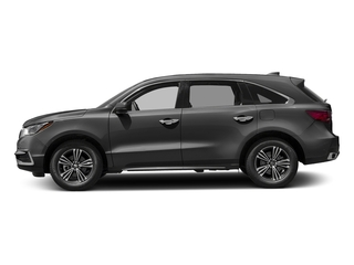 Modern Steel Metallic 2017 Acura MDX Pictures MDX SH-AWD photos side view