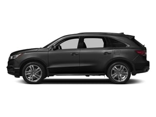 Crystal Black Pearl 2017 Acura MDX Pictures MDX Utility 4D Advance 2WD V6 photos side view