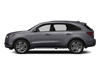Lunar Silver Metallic 2017 Acura MDX Pictures MDX Utility 4D Advance 2WD V6 photos side view