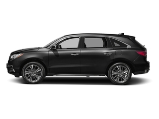 Crystal Black Pearl 2017 Acura MDX Pictures MDX FWD w/Technology Pkg photos side view