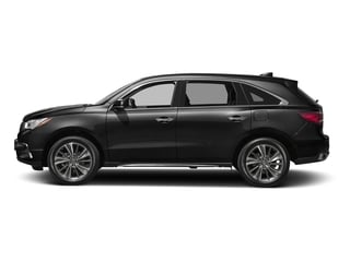 Crystal Black Pearl 2017 Acura MDX Pictures MDX Utility 4D Technology 2WD V6 photos side view