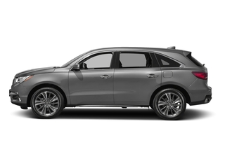 Lunar Silver Metallic 2017 Acura MDX Pictures MDX Utility 4D Technology 2WD V6 photos side view