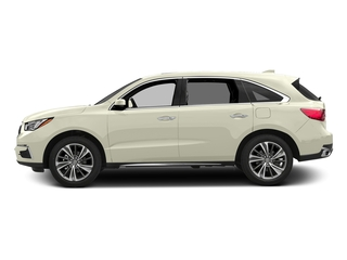 White Diamond Pearl 2017 Acura MDX Pictures MDX Utility 4D Technology AWD V6 photos side view