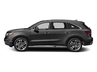 Modern Steel Metallic 2017 Acura MDX Pictures MDX Utility 4D Advance DVD 2WD V6 photos side view