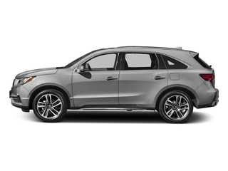 Lunar Silver Metallic 2017 Acura MDX Pictures MDX Utility 4D Advance DVD 2WD V6 photos side view