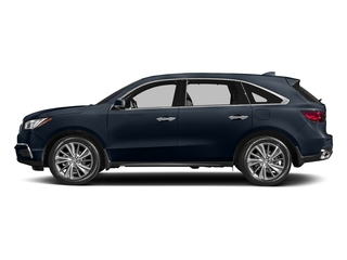 Fathom Blue Pearl 2017 Acura MDX Pictures MDX Utility 4D Technology DVD 2WD V6 photos side view