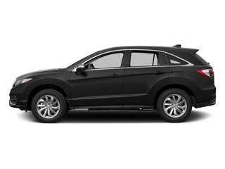 Crystal Black Pearl 2017 Acura RDX Pictures RDX Utility 4D Technology AWD V6 photos side view