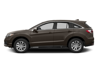 Kona Coffee Metallic 2017 Acura RDX Pictures RDX Utility 4D Technology AWD V6 photos side view