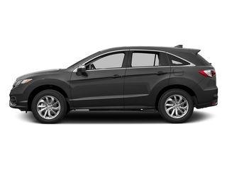 Modern Steel Metallic 2017 Acura RDX Pictures RDX Utility 4D Technology AWD V6 photos side view