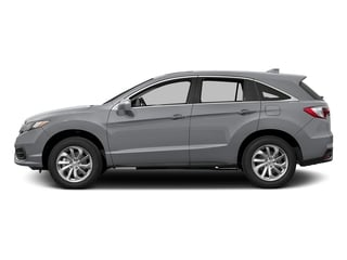 Lunar Silver Metallic 2017 Acura RDX Pictures RDX Utility 4D Technology AWD V6 photos side view