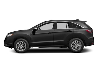 Modern Steel Metallic 2017 Acura RDX Pictures RDX Utility 4D AWD V6 photos side view
