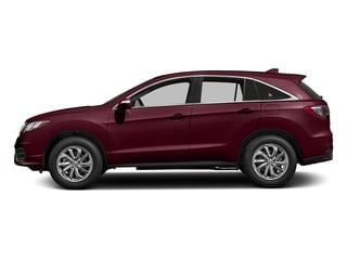 Basque Red Pearl II 2017 Acura RDX Pictures RDX AWD photos side view
