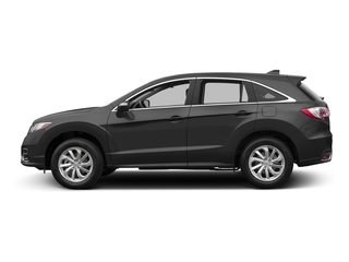 Modern Steel Metallic 2017 Acura RDX Pictures RDX Utility 4D Technology 2WD V6 photos side view