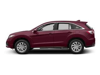 Basque Red Pearl II 2017 Acura RDX Pictures RDX Utility 4D Technology 2WD V6 photos side view
