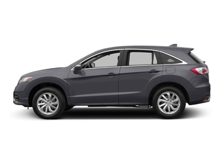 Lunar Silver Metallic 2017 Acura RDX Pictures RDX Utility 4D Technology 2WD V6 photos side view