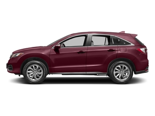 Basque Red Pearl II 2017 Acura RDX Pictures RDX Utility 4D 2WD V6 photos side view