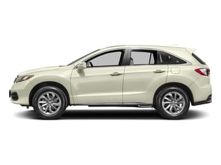 White Diamond Pearl 2017 Acura RDX Pictures RDX Utility 4D 2WD V6 photos side view