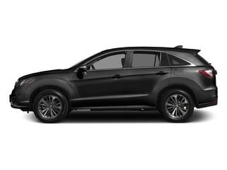 Crystal Black Pearl 2017 Acura RDX Pictures RDX Utility 4D Advance AWD V6 photos side view