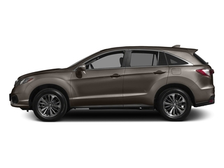 Kona Coffee Metallic 2017 Acura RDX Pictures RDX Utility 4D Advance AWD V6 photos side view