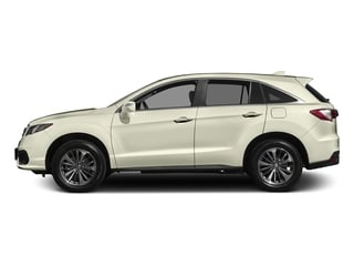 White Diamond Pearl 2017 Acura RDX Pictures RDX Utility 4D Advance AWD V6 photos side view