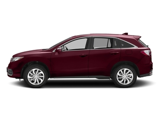 Basque Red Pearl II 2017 Acura RDX Pictures RDX AWD w/AcuraWatch Plus photos side view