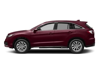 Basque Red Pearl II 2017 Acura RDX Pictures RDX FWD w/Technology/AcuraWatch Plus Pkg photos side view
