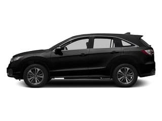 Crystal Black Pearl 2017 Acura RDX Pictures RDX FWD w/Advance Pkg photos side view