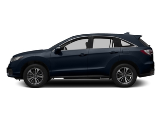 Fathom Blue Pearl 2017 Acura RDX Pictures RDX Utility 4D Advance 2WD V6 photos side view