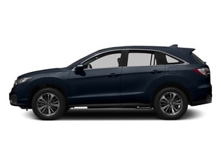 Fathom Blue Pearl 2017 Acura RDX Pictures RDX FWD w/Advance Pkg photos side view