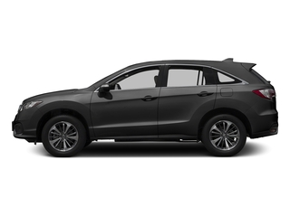 Modern Steel Metallic 2017 Acura RDX Pictures RDX Utility 4D Advance 2WD V6 photos side view