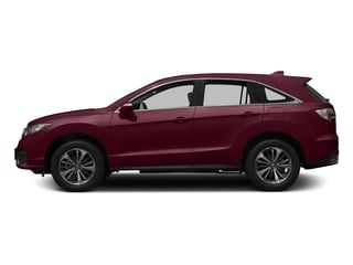 Basque Red Pearl II 2017 Acura RDX Pictures RDX FWD w/Advance Pkg photos side view