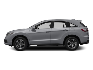 Lunar Silver Metallic 2017 Acura RDX Pictures RDX Utility 4D Advance 2WD V6 photos side view