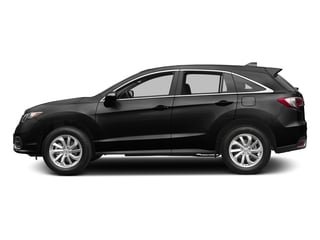 Crystal Black Pearl 2017 Acura RDX Pictures RDX AWD w/Technology/AcuraWatch Plus Pkg photos side view