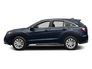 Fathom Blue Pearl 2017 Acura RDX Pictures RDX AWD w/Technology/AcuraWatch Plus Pkg photos side view