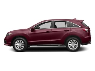 Basque Red Pearl II 2017 Acura RDX Pictures RDX AWD w/Technology/AcuraWatch Plus Pkg photos side view