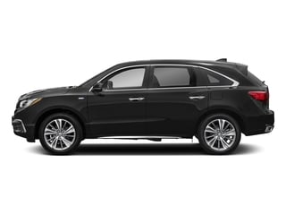 Crystal Black Pearl 2017 Acura MDX Pictures MDX Utility 4D Technology AWD Hybrid photos side view
