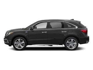 Modern Steel Metallic 2017 Acura MDX Pictures MDX Utility 4D Technology AWD Hybrid photos side view