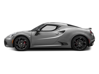 Basalt Gray Metallic 2017 Alfa Romeo 4C Coupe Pictures 4C Coupe 2D photos side view