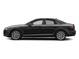 Mythos Black Metallic 2017 Audi A4 Pictures A4 Sedan 4D 2.0T Premium AWD photos side view