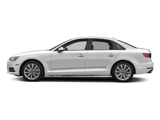 Glacier White Metallic 2017 Audi A4 Pictures A4 Sedan 4D 2.0T Premium AWD photos side view